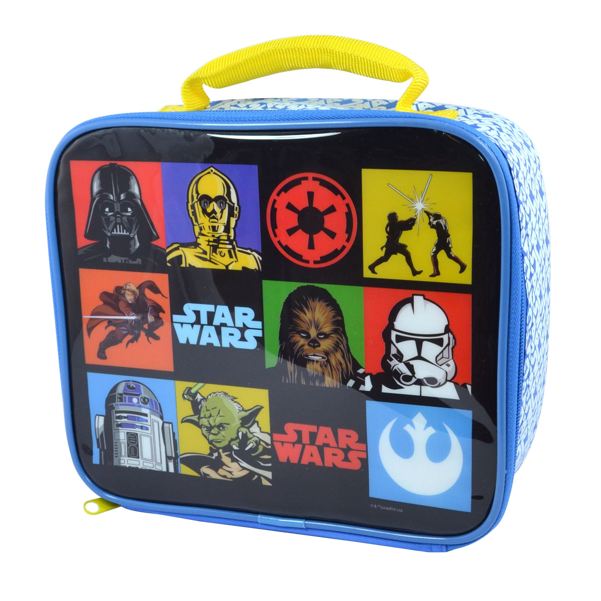 Star wars, the force awakens, lunch bag, dinner ware, back to school